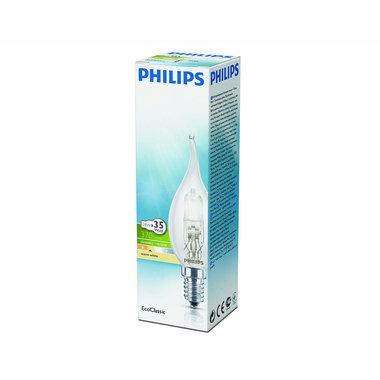 halogeenlamp E14 28W 370Lm kaars met tip