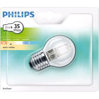 halogeenlamp E27 28W 370Lm kogel