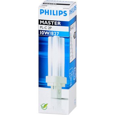PL-C lamp 2 pins 10W kleur 827