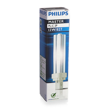 PL-C lamp 2 pins 13W kleur 827