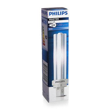 PL-C lamp 2 pins 18W kleur 830
