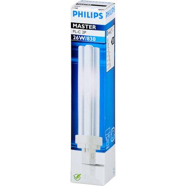 PL-C lamp 2 pins 26W kleur 830