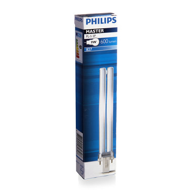 PL-S lamp 2 pins 9W kleur 827