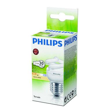 spaarlamp E27 5W 270Lm spiraal mat