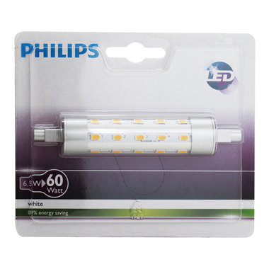 LED lamp R7s 118mm 6,5W 806Lm staaf - Plusline