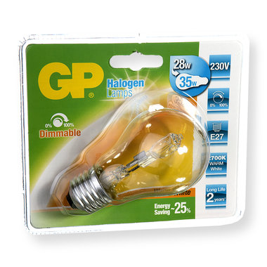 halogeenlamp E27 30W 370Lm classic