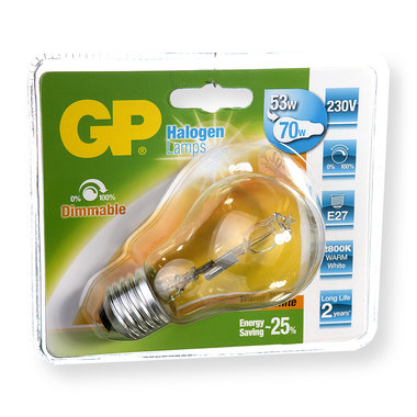 halogeenlamp E27 57W 840Lm classic