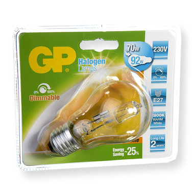 halogeenlamp E27 77W 1200Lm classic