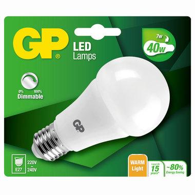 LED lamp E27 6W 470Lm classic dimbaar