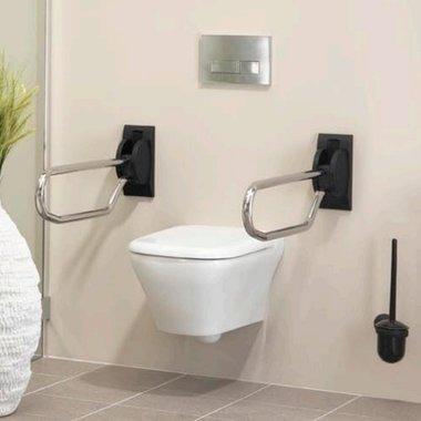 Opklapbare toilettebeugel