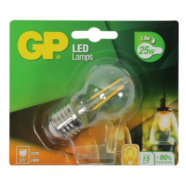 LED lamp E27 1,9W 250Lm kogel Filament
