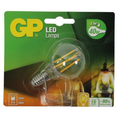 LED lamp E14 3,3W 470Lm kogel Filament
