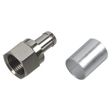 F-connector krimp
