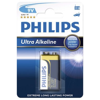 batterij alkaline ultra 9V