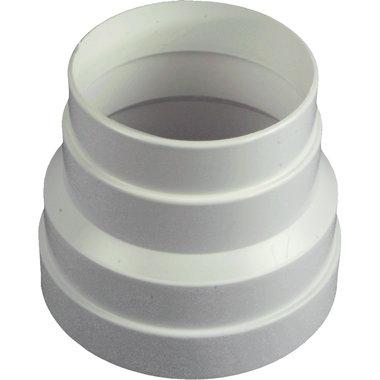 verloopstuk 100-125mm wit