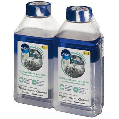 2-in-1 ontkalker ontvetter vaatwasser 2x250ml