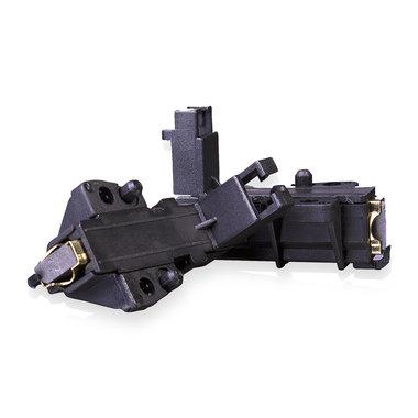 koolborstel 13,5x5mm +houder (PER SET)