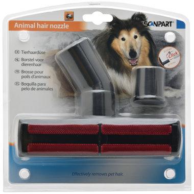 honden- en kattenhaarborstel Ø32+35mm
