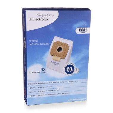 stofzuigerzak fleece (doos) ES51 4st.