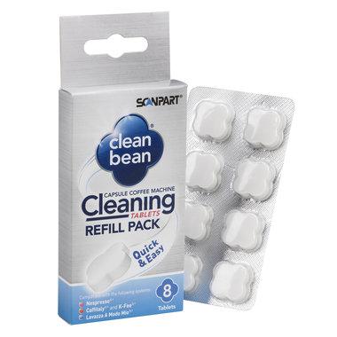 CleanBean reinigingstabletten 8 stuks