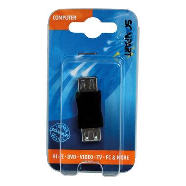 adapter USB A(F) - USB A(F)