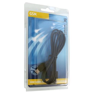 laad+datakabel USB-A(M) - USB-C(M) 1m zwart