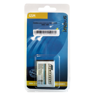 accu Nokia Li-ion 3,6V 750mAh