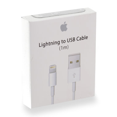 laad+datakabel Apple lightning 1m