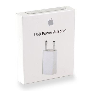 USB netvoeding adapter 1xUSB 5V-1A wit