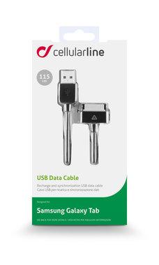laad+datakabel Samsung 1m zwart
