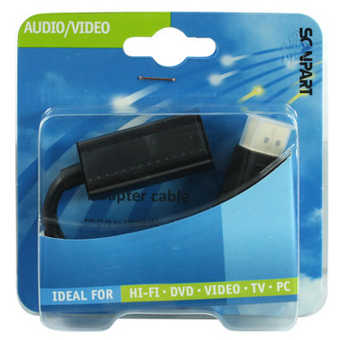 adapter kabel DisplayPort (M) - HDMI (F)