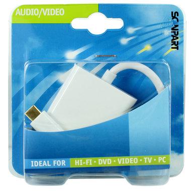 adapter kabel USB C (M) - HDMI (F)