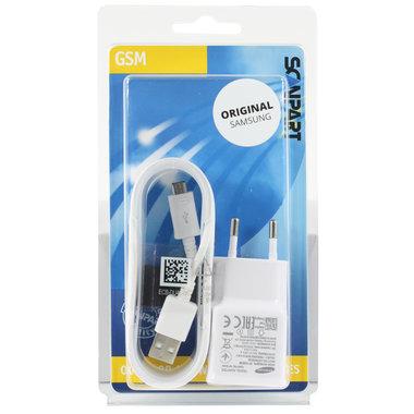 Samsung snellader micro USB 2000mA wit (orig.)