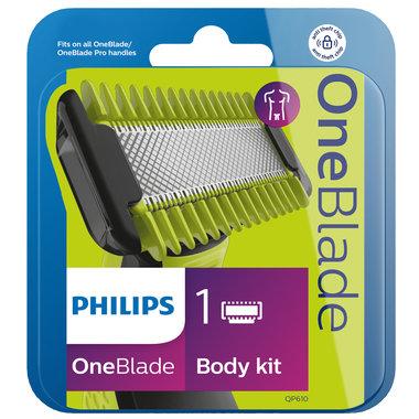 OneBlade vervangbaar scheermesje + lichaamskam