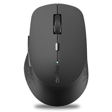 draadloze multi-mode silent muis grijs