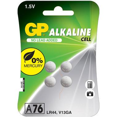 knoopcel alkaline 4 stuks
