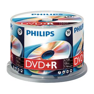 DVD+R 4,7GB 16xspeed spindle 50 stuks