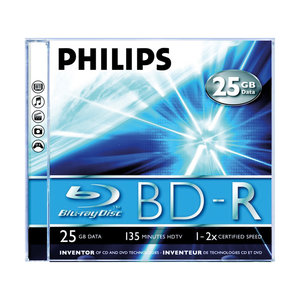 BD-R Blu-Ray 25GB jewel case