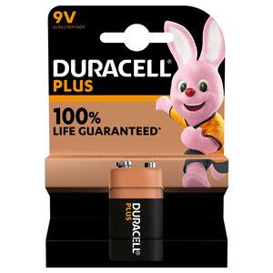 batterij alkaline plus 100% 9V 1st.