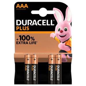 batterij alkaline plus 100% AAA 4st.